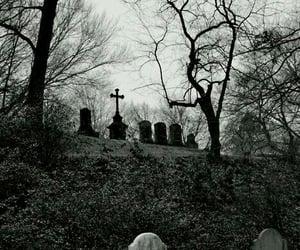 blackandwhite and cemeteries image