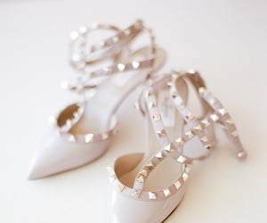 blush, fashion, and heels image