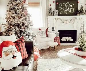christmas lights, christmas tree, and inspiration image