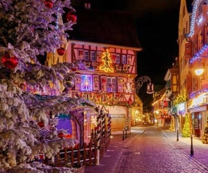 christmas in france image