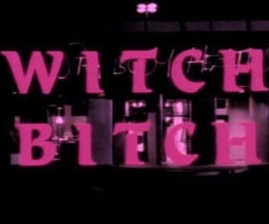 bitch, Darkness, and witch image