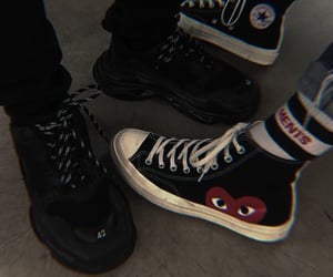 grunge, shoes, and converse image