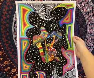 art, bohemian, and drugs image