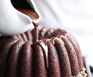 chocolate, food, and foodporn image