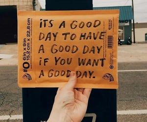 quotes, good day, and yellow image