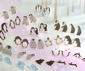 baby penguin, penguin themed, and south pole image