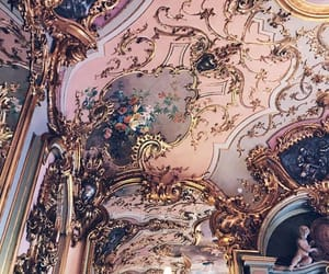 architecture, art, and pink image