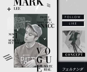 gif, kpop, and mark image