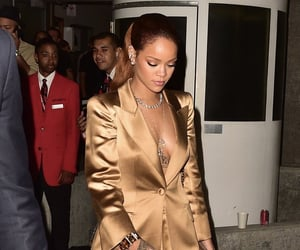 fashion, gold, and rihanna image