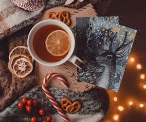 winter and tea image