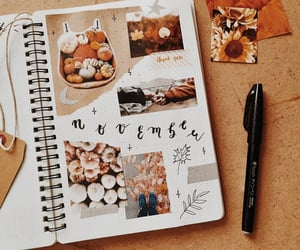 autumn, november, and bujo image