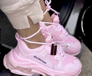 pink, Balenciaga, and fashion image