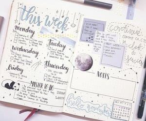 art, inspiration, and bullet journal image