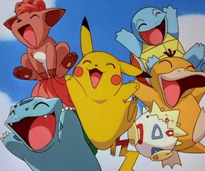 pokemon, pikachu, and vulpix image
