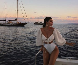 fashion, summer, and ocean image