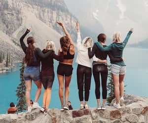 friendship, girls, and photography image