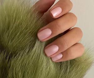 nails, fashion, and green image