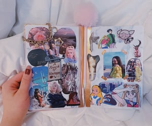 aesthetic, journal, and Collage image