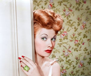 Lucille Ball and colorization image