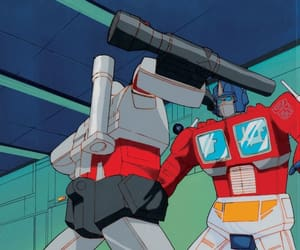 80s, animation, and megatron image