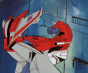 80s, animation, and optimus prime image