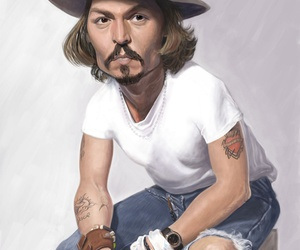 funny and johnny depp image