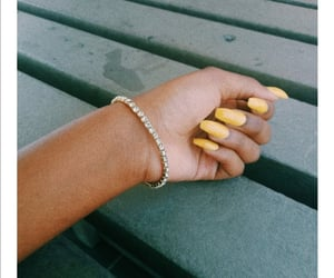 aesthetic, jewelry, and nails image