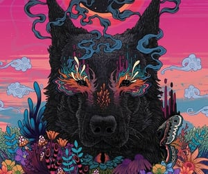 art, background, and psychedelic image