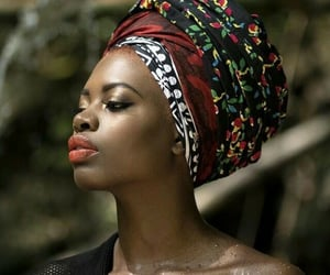 africa, African woman, and african style image