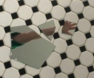 mirror, aesthetic, and broken image