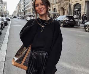 blogger, LV, and street style image
