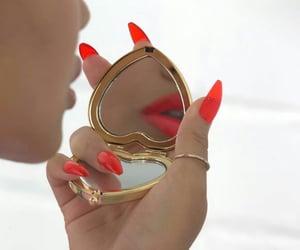 girl, inspiration, and lips image