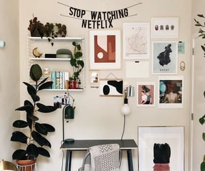 aesthetic, appartment, and art image