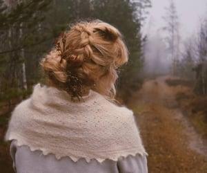 autumn, braid, and cozy image