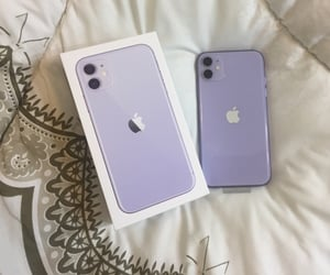 iphone, lavender, and new image