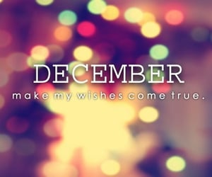 christmas, wishes, and new month image
