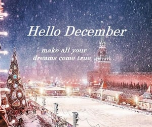 background, december, and hello image