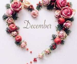 december, month, and hello image