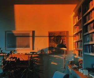 aesthetic, room, and orange image