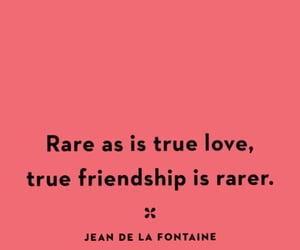 friendship, pink, and quote image