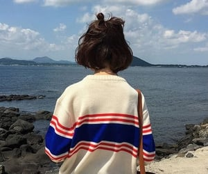 aesthetic, kfashion, and sea image