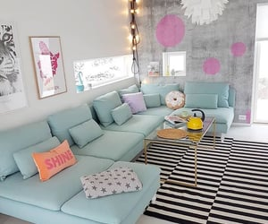 home, living room, and decorations image