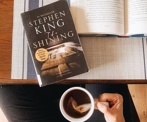 book, books, and Stephen King image