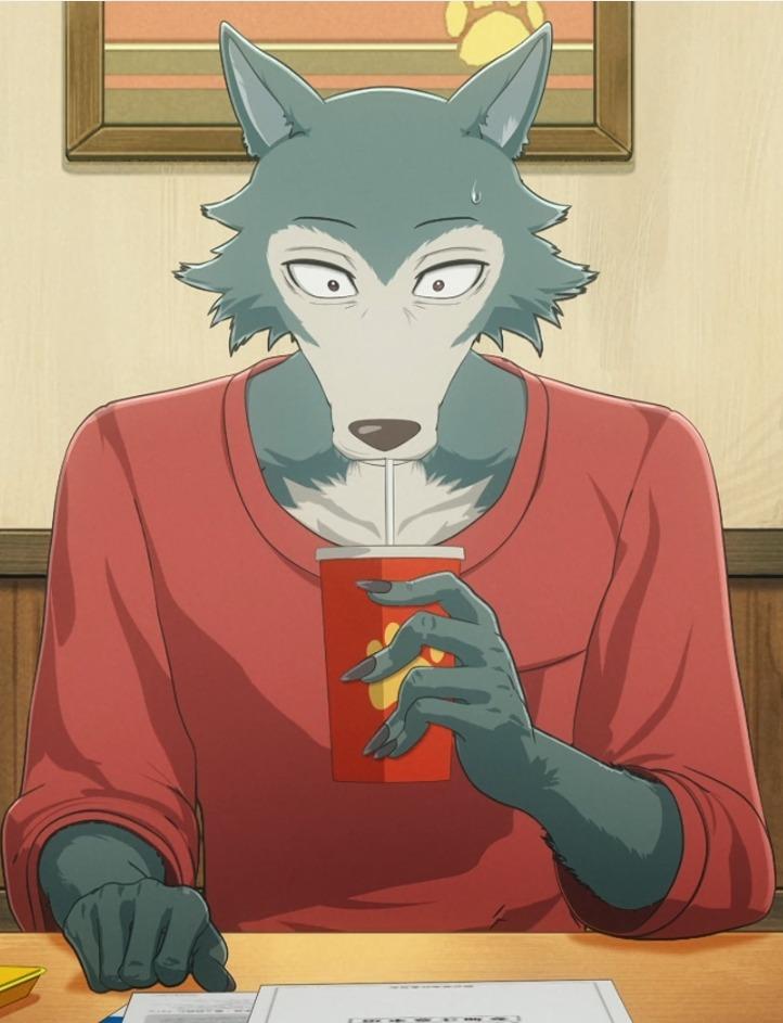 Legoshi, personaje de Beastars