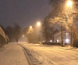 christmas, december, and night image
