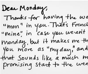 monday, quotes, and text image