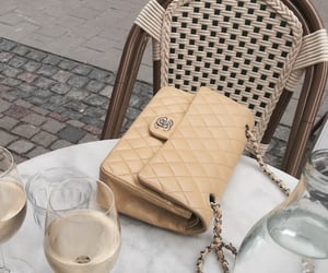cafe, chanel, and vintage image
