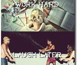 books, laugh, and party image