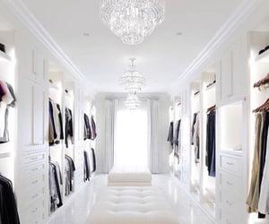 closet, luxury, and house image