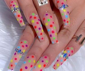 acrylic, art, and nails image